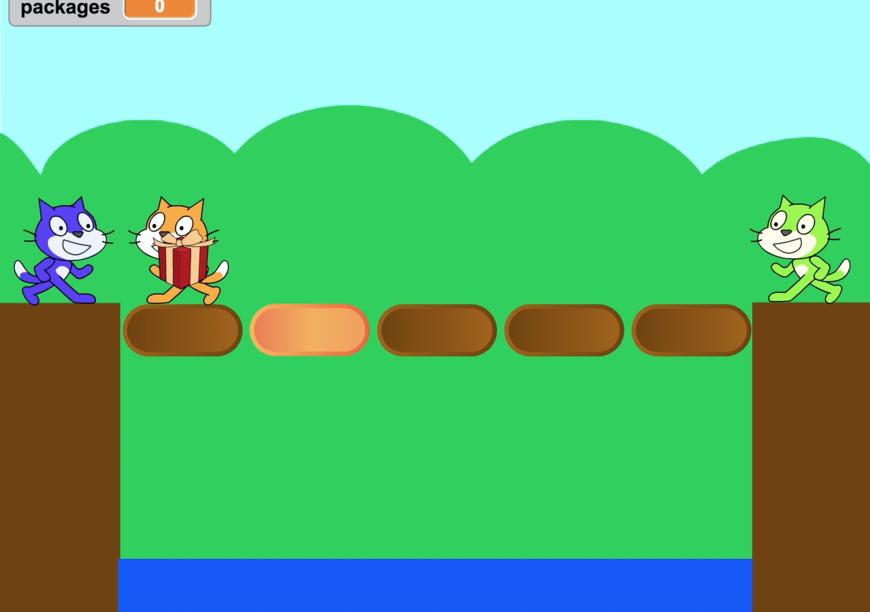 少ないコードで多くを実現する!お手本Scratchゲームの教材